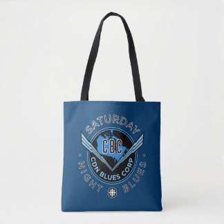 Saturday Night Blues Tote Bag