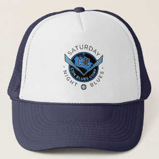 Saturday Night Blues Trucker Hat