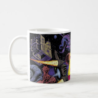 Saturday Night Space Opera MAGNIFIED LOGO! Coffee Mug