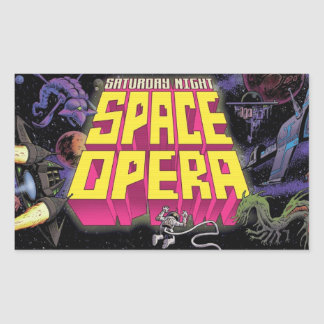 Saturday Night Space Opera Stickers!