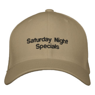 Saturday Night Specials Embroidered Hat