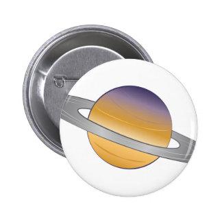 Saturn 2 Inch Round Button