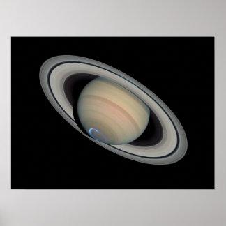 Saturn Aurora - poster