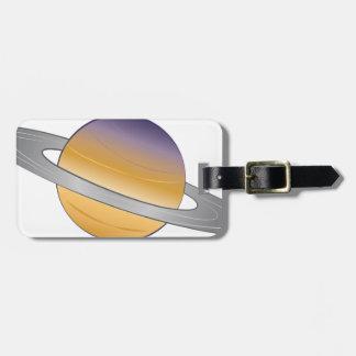 Saturn Bag Tag