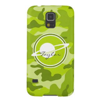 Saturn bright green camo camouflage case for galaxy s5