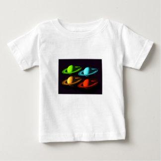 Saturn Collage Baby T-Shirt