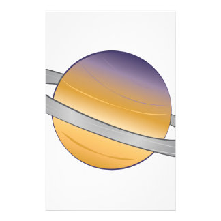 Saturn Custom Stationery