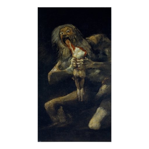 Saturn Devouring His Son (Flawless High Quality) Poster