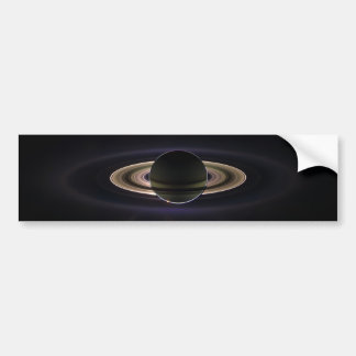 Saturn Eclipse Bumper Sticker