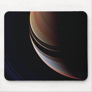 Saturn - False Color Enhancement Mouse Pad