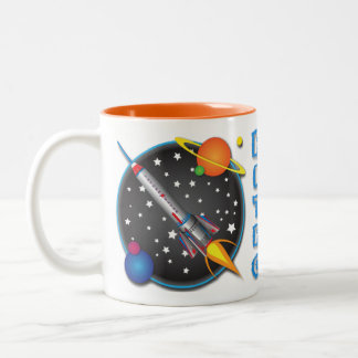 Saturn Flyer Mug Design