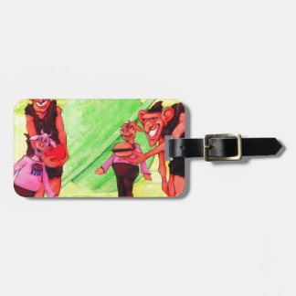 Saturn Giants Luggage Tag