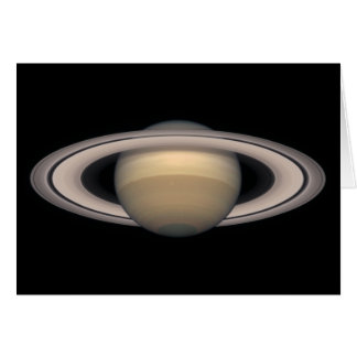 Saturn Greeting Card - Astronomy and Science gift