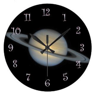 Saturn Large Clock