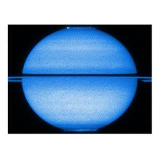 Saturn Light Show Postcard