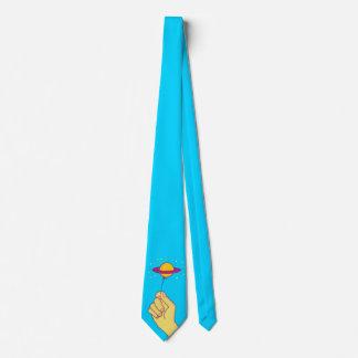 Saturn Lollipop Balloon Tie