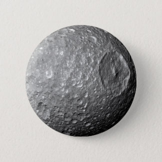 Saturn Moon Mimas 2 Inch Round Button