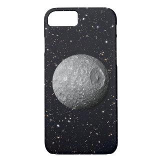 Saturn Moon Mimas Starry Sky Case-Mate iPhone Case