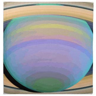 Saturn Napkin