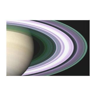 Saturn Planet beautiful rings NASA Canvas Print