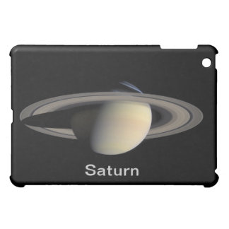 Saturn Planet beautiful rings NASA iPad Mini Cover