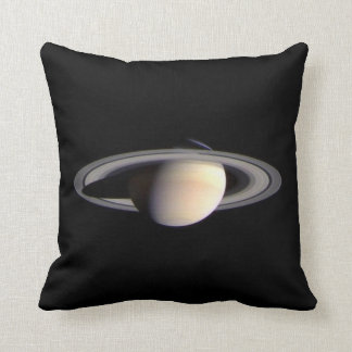 Saturn, Planet of the Solar System Throw Pillow