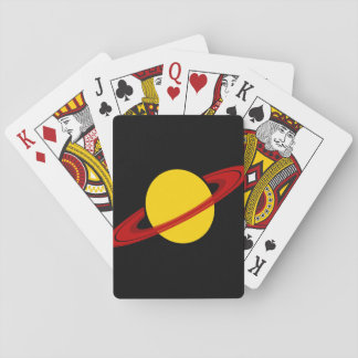 saturn playing cards