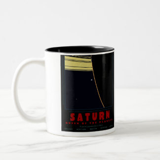 SATURN, Queen of the Planets Mug