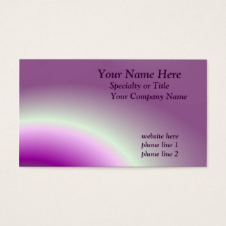 Saturn Rings Business Card