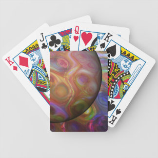 Saturn Rising Bicycle Playing Cards