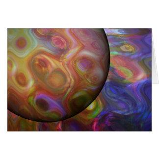 Saturn Rising Card