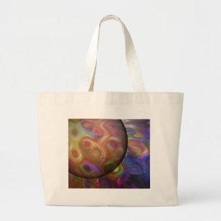 Saturn Rising Large Tote Bag