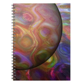 Saturn Rising Spiral Notebook