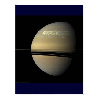 Saturn Storm Postcard