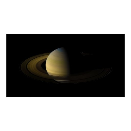Saturn the Sixth Planet from the Sun Print
