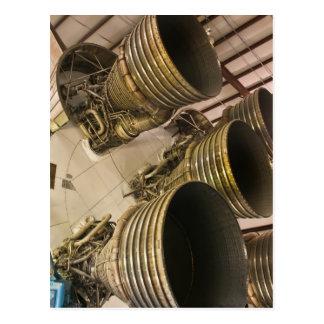 Saturn V Rocket Postcard