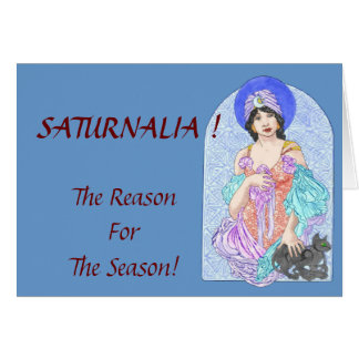 Saturnalia Season Card