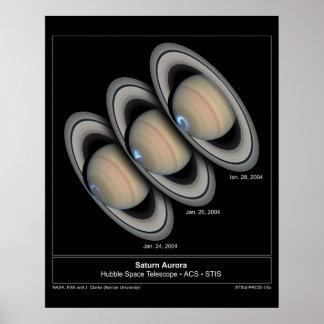 SaturnAurora-2005-06a Poster