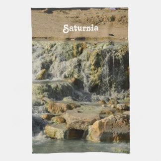 Saturnia Natural Hot Springs Hand Towel