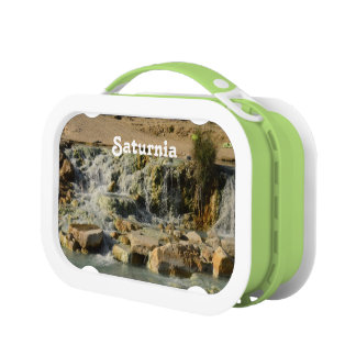 Saturnia Natural Hot Springs Lunchboxes