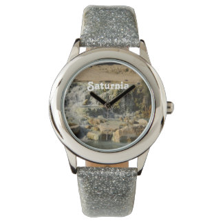 Saturnia Natural Hot Springs Wrist Watch