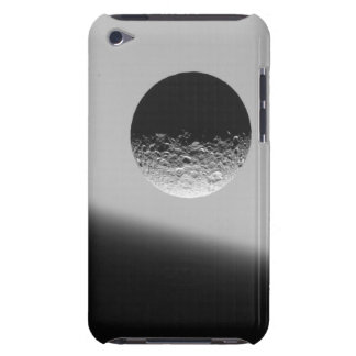 Saturn's moon Mimas iPod Touch Cases