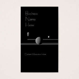Saturn's Moons Business Cards