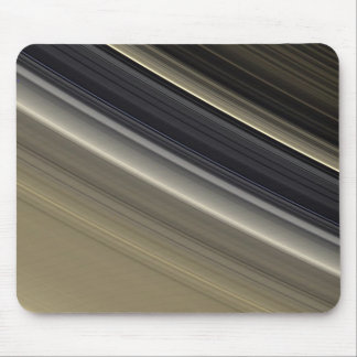 Saturn's Rings - Natural Color Mouse Pad