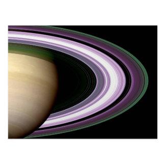 Saturn's Rings Postcard