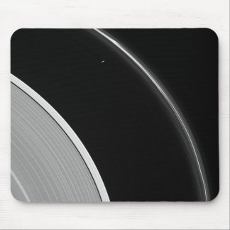 Saturn's Rings - Prometheus and the F Ring Mouse Pad