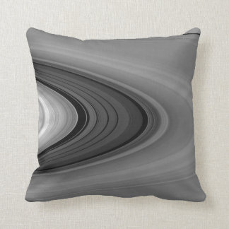 """Saturn's Rings - """"The Great Divide"""" Throw Pillow"""