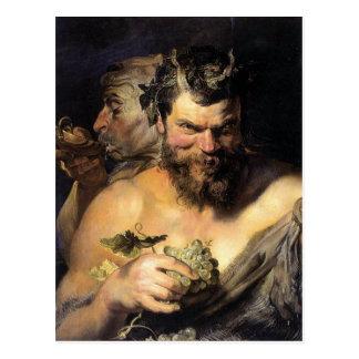 Satyr - Satan - Rubens Postcard
