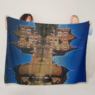 Satzvey Castle, Germany Acrylic Art Fleece Blanket