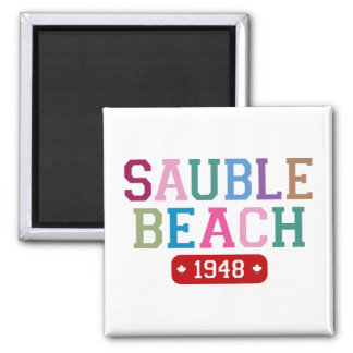 Sauble Beach 1948 Magnet
